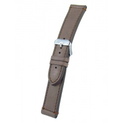 Light brown calfskin watchband