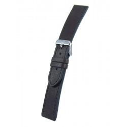 Bracelet Montre Marron Foncé Cuir de Vachette Vintage