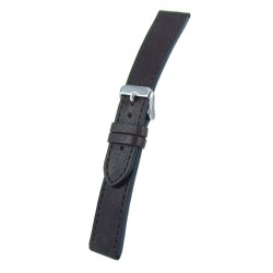 Dark Brown Vintage Leather Watch Strap