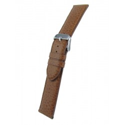 Light brown bullskin watch band