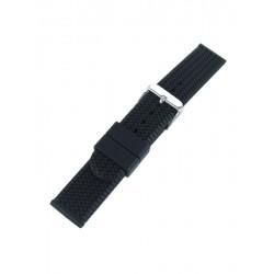 Bracelet montre pneu noir