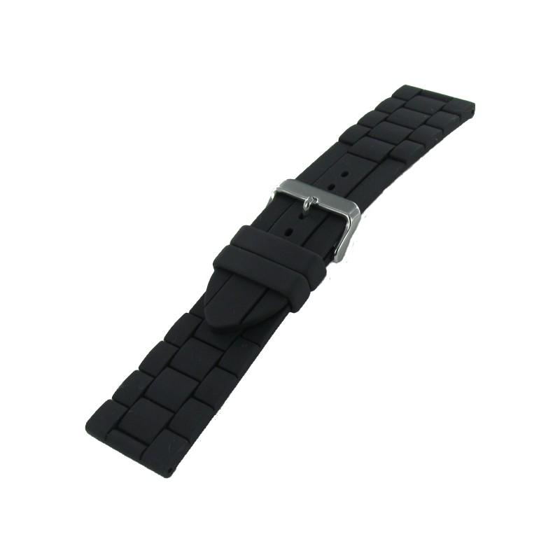Bracelet montre caoutchouc haut de gamme