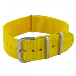 Yellow Nato Strap