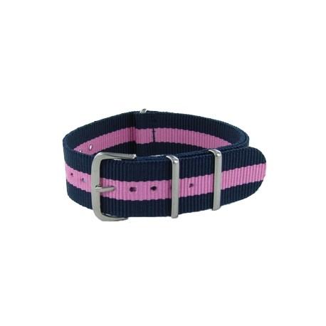 Blue/Pink Nato Strap