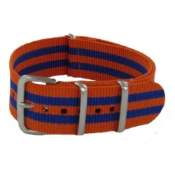 Bracelet Nato James Bond Orange/Bleu