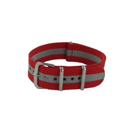 Red/Grey Nato Strap