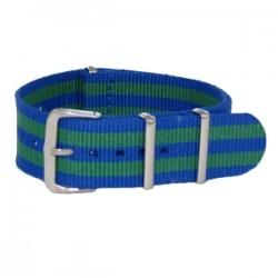 Bracelet Nato James Bond Bleu/Vert