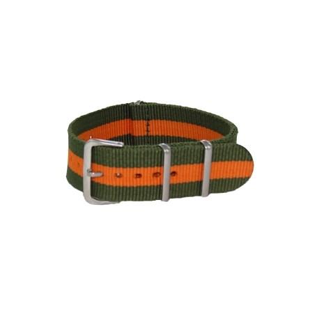 Khaki/Orange Nato Strap