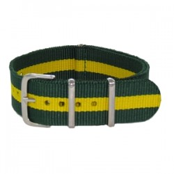Green and Yellow Nato Strap