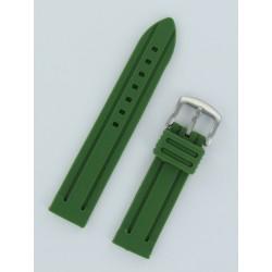 Bracelet Montre Silicone Vert Armée Style Panerai