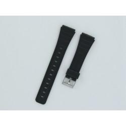 Bracelet Montre Silicone Noir Style Casio