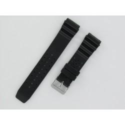 Bracelet Montre Silicone Plongée Noir