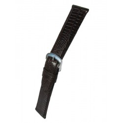 Brown Teju Lizard Grain Watch Strap