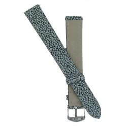 Bracelet Montre Femme Imitation Galuchat Gris