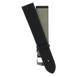Hermes Style Black Lady Watch Strap