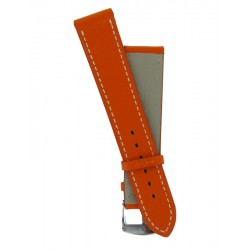 Hermes Style Orange Lady Watch Strap