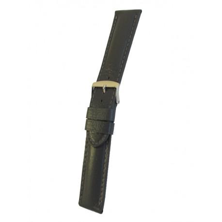 Bracelet Montre Gris Extra Long Cuir de Cerf