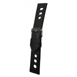 Black Racing Watch Strap