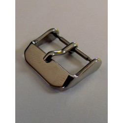 Heavy Silver Buckle - Stainless Steel