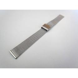 Bracelet Maille Milanaise Chromé pour Montre