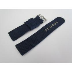 Brown Braided Nylon Watch Strap