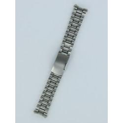 Bracelet Montre à Anses Courbes Acier Massif Coloris Acier Brossé/Poli