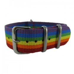 Rainbow Nato Strap