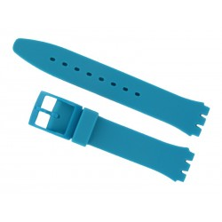 Turquoise Silicone Strap for Swatch Watch