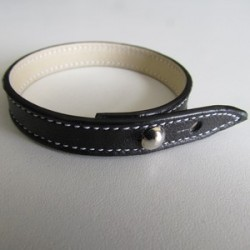 Simple Black Leather Strap