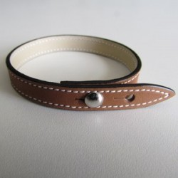 Simple Gold Leather Strap