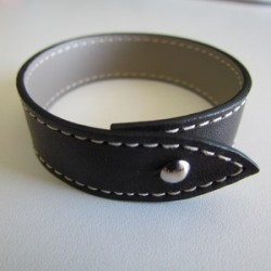 Brown Single Wrap Leather Strap For Men