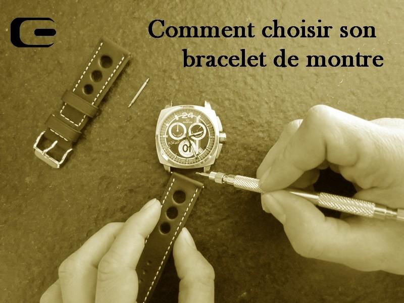 Choisir son bracelet de montre