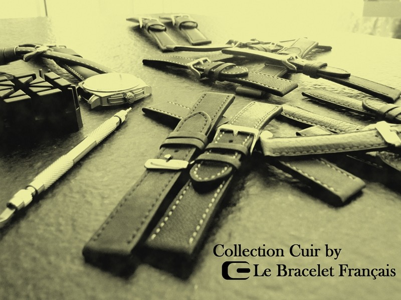 Collection Cuir by Le Bracelet Français
