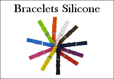 Bracelets silicone